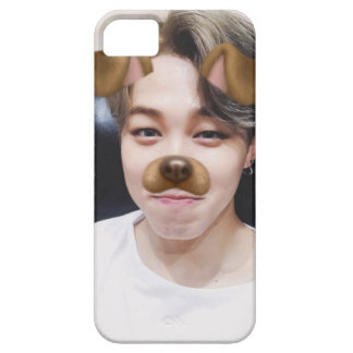 JIMIN PUPPY FILTER iPhone 5 CASE