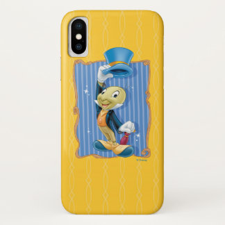Jiminy Cricket Lifting His Hat iPhone X Case