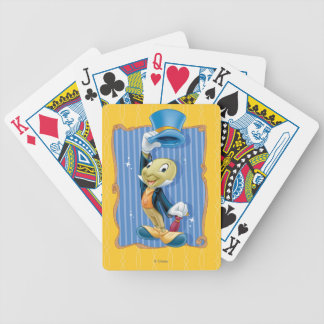 Jiminy Cricket Lifting His Hat Poker Deck