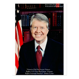 """Jimmy Carter """"Human Rights"""" Quote Gifts Tees Cards"""