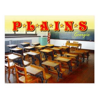 Jimmy Carter's old classroom, Plains, Georgia Postcard