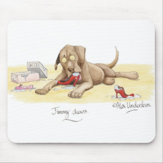 'Jimmy chews' Mousepad