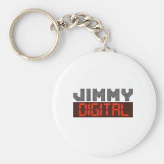 Jimmy Digital Keychain