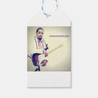 Jimmy Electric Guitar Tee Gift Tags