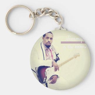 Jimmy Electric Guitar Tee Keychain