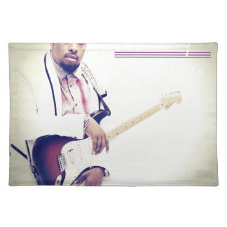 Jimmy Electric Guitar Tee Placemat