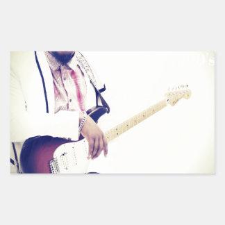 Jimmy Electric Guitar Tee Sticker