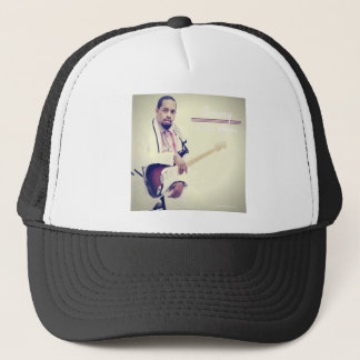 Jimmy Electric Guitar Tee Trucker Hat