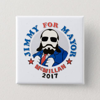 Jimmy McMillan 2017 2 Inch Square Button