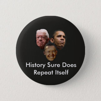 Jimmy Obama 2 Inch Round Button