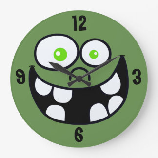 Jimmy Round Clock (green)