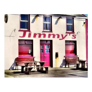 Jimmy's Pub Irish Postcard