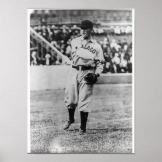 Jimmy Sheckard, Chicago Cubs Baseball Player Poster