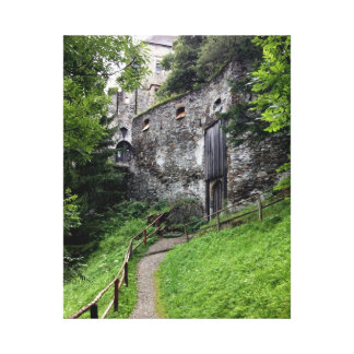 Jim's Castle Stretched Canvas Print