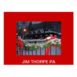 JimThorpeStationLg, JIM THORPE PA Postcard