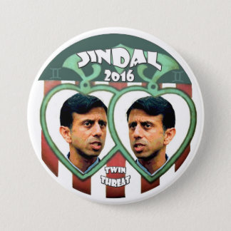 Jindal for president 2016 3 inch round button