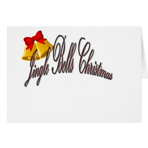 Jingel Bells Christmas Greeting Cards