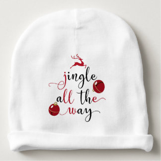 jingle all the way baby beanie