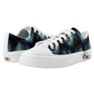 Jingle All the Way Blue ZIPZ® Sneakers