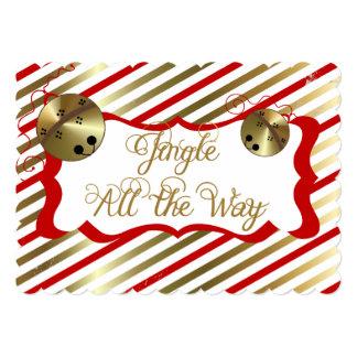 Jingle All the Way Christmas Holiday Card