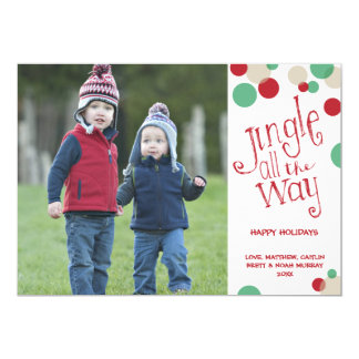 Jingle All The Way | Holiday Photo Greeting Card
