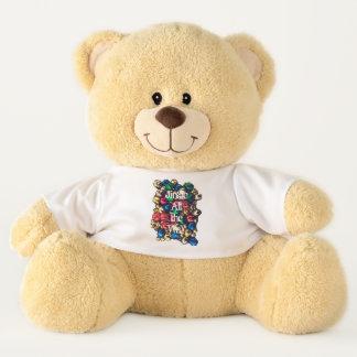 Jingle All the Way Multi-Colour Large Teddy Bear