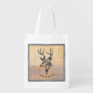 Jingle all the Way - reusable bags