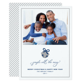 Jingle All the Way | Simple Holiday Photo Card