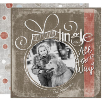 Jingle All The Way, Single Photo & Year Card