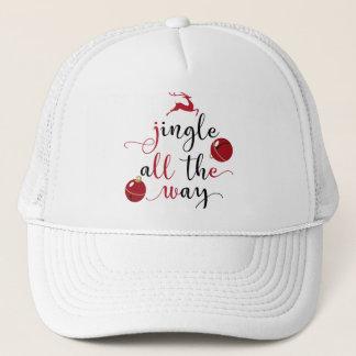 jingle all the way trucker hat