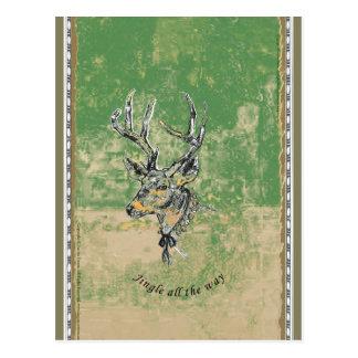 Jingle all the Way - Xmas Postcard