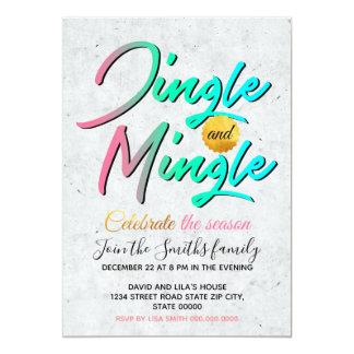 Jingle and Mingle Card