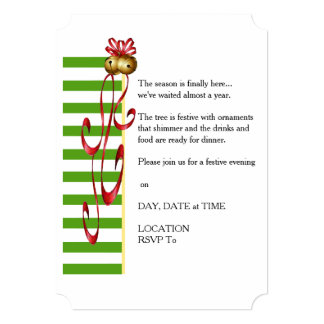 Jingle And Mingle Christmas Party Invitation