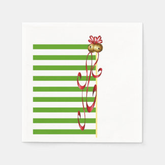Jingle And Mingle Christmas Party Paper Napkins