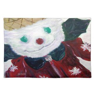 Jingle Bear Placemat