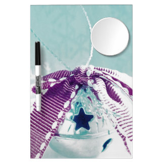 Jingle Bell Dry Erase Board With Mirror