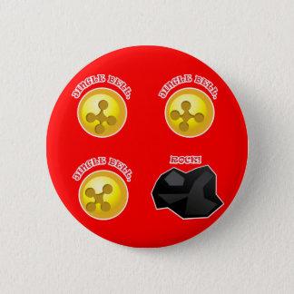 Jingle Bell, Jingle Bell, Jingle Bell, Rock! 2 Inch Round Button