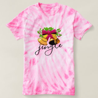 jingle bell xmas christmas Tie-Dye t-shirt design