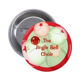 Jingle Bells 2 Inch Round Button