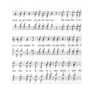 Jingle-Bells #2 Notepad