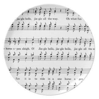 Jingle-Bells #2 Plate