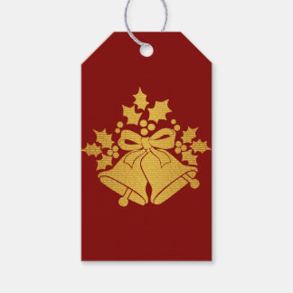 Jingle Bells and Holly for Winter Christmas Prayer Gift Tags