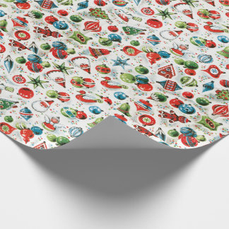 Jingle Bells & Candy Canes Wrapping Paper
