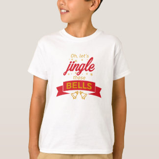 Jingle Bells Christmas Carol Holiday Celebration T-Shirt