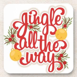 Jingle Bells Christmas Coaster