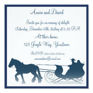 Jingle Bells Christmas Invitation