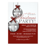 "Jingle Bells Christmas Party 5"" X 7"" Invitation Card"