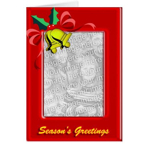 Jingle Bells Christmas Photo Card