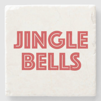 Jingle Bells Coaster Stone Coaster