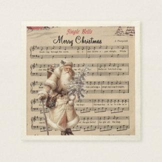 jingle bells paper napkins